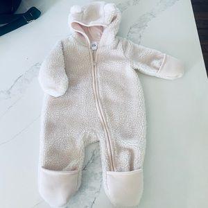 Fleece baby bunting